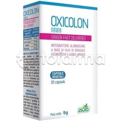 Oxicolon Oxigen Fast Deliverer contro Gonfiore 20 Capsule