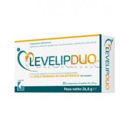 LevelipDuo Integratore per Controllo Colesterolo 20 Compresse