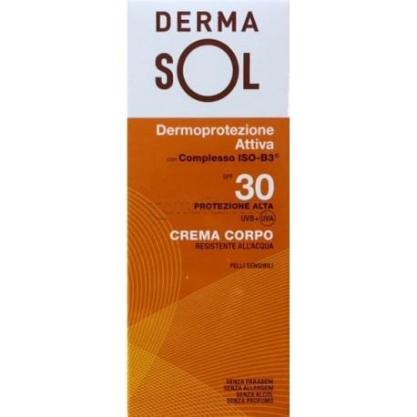 Dermasol Solare Crema Corpo SPF 30 Protezione Alta 100 ml