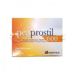Peaprostil 600 Integratore per Salute Prostata 16 Bustine Orosolubili