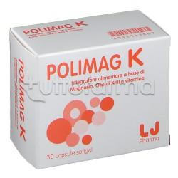 Polimag K Integratore per Benessere Ciclo Donna 30 Capsule
