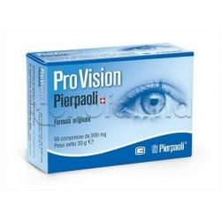 Pro Vision Dr Pierpaoli Integratore per Benessere Occhi e Vista 60 Compresse