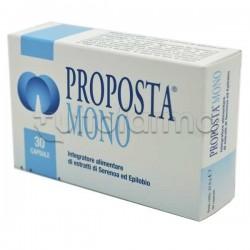 Proposta Mono Integratore per Salute Prostata Uomo 30 Capsule