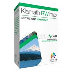 Nutrigea Klamath RW Max Integratore Ricostituente 180 Capsule