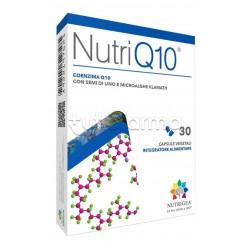 Nutrigea NutriQ10 Integratore Energetico ed Antiossidante 30 Capsule
