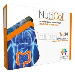 Nutrigea NutriCol Integratore contro la Stitichezza 30 Capsule