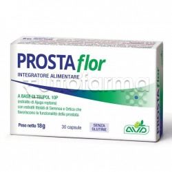 Prostaflor Integratore per Prostata e Vie Urinarie 30 Capsule
