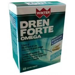 Winter Dren Forte Omega Integratore Drenante 48 Capsule