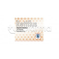 Retiflus Integratore per Salute Retina e Occhio 30 Compresse