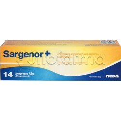 Sargenor Plus con Arginina per Vigore e Energia 14 Compresse Effervescenti