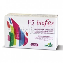 F5 Biofer Integratore di Ferro 30 Capsule