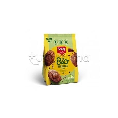 Schar Bio Maddalene Al Cioccolato Madeleines Choco Senza Glutine 150gr