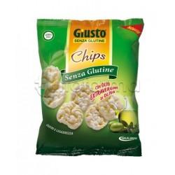 Giuliani Giusto Chips Olio Extravergine Senza Glutine Per Celiaci 30g