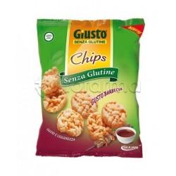 Giuliani Giusto Chips Gusto Barbecue Senza Glutine Per Celiaci 30g