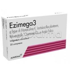 Ezimega3 Integratore Alimentare per il Colesterolo 20 Compresse