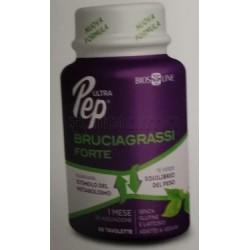 Bios Line Ultra Pep Bruciagrassi Forte Integratore per il Controllo del Peso 60 Tavolette