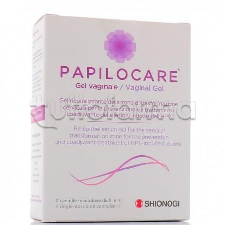 Papilocare Gel Vaginale 7 Cannule Monodose 5ml