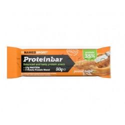 Named Proteinbar Burro di Arachidi Barretta Proteica 50gr