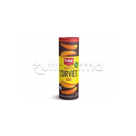 Schar Curvies BBQ Patatine Senza Glutine Gusto Barbecue 170gr