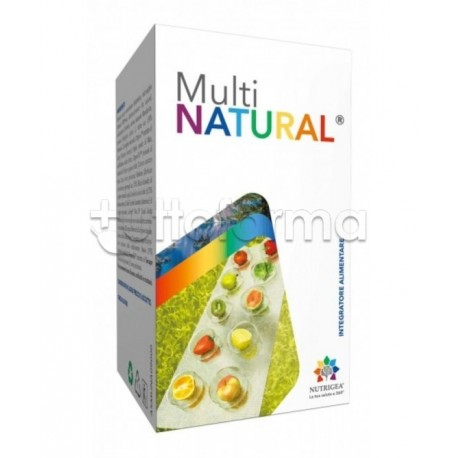 Nutrigea Multinatural Integratore Multivitaminico Polvere 90g