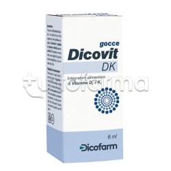 Dicovit Dk Gocce Vitamina D e K 6ml
