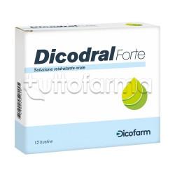 Dicodral Forte Reidratante Per Diarrea E Vomito 12 Bustine