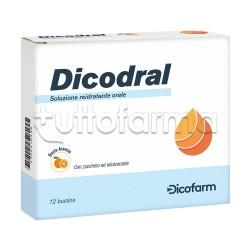 Dicodral Bustine Reidratanti Per Vomito E Diarrea 12 Buste