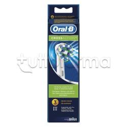 Oral-B CrossAction Testine Ricambio Spazzolino Elettrico