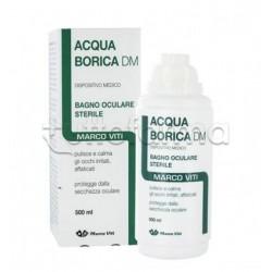 Acqua Borica Rinfrescante Per Bagno Oculare 500ml