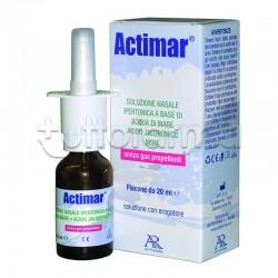 Actimar Spray Nasale Per Naso Chiuso 3% 20ml