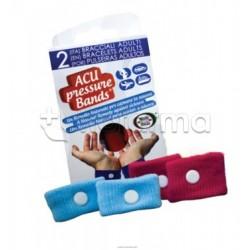 Acu Pressure Band Braccialetto Per Non Patire Per Adulti 2 Pezzi