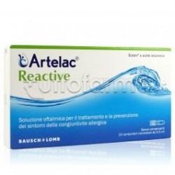 Artelac Reactive Collirio per la prevenzione della Congiuntivite 20 Unità Monodose