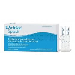 Artelac Splash Collirio per Occhi Arrossati e Stanchi 10 Flaconi Monodose da 0,5ml