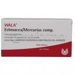 Wala Echinacea Mercurius Compositum Medicinale Omeopatico per Bambini 10 Supposte