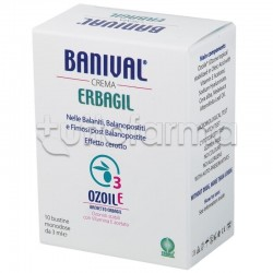 Banival Crema Antinfiammatoria Intima Uomo 10 Bustine da 3ml