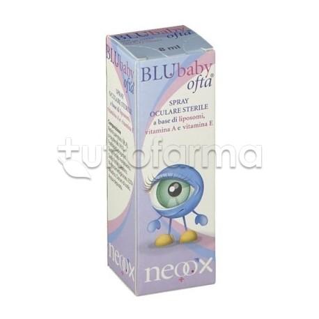 BluBaby Ofta Spray Oculare per Occhi Secchi 8ml