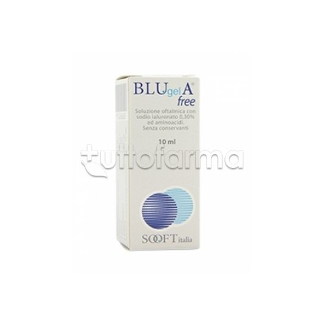 Blugel A Free Collirio Idratante per Occhio Secco 10ml