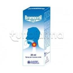 Bromacetil Gola Spray per la Gola Irritata 20ml