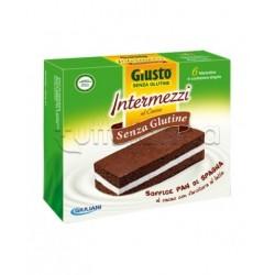 Giuliani Giusto Intermezzi Cacao Senza Glutine Per Celiaci 6x30g