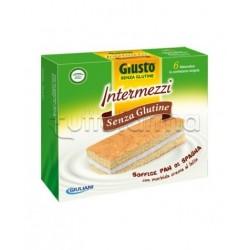 Giuliani Giusto Intermezzi Senza Glutine Per Celiaci 6x30g