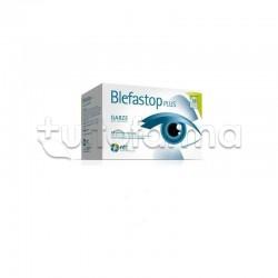 Blefastop Plus Garza in cotone Antifiammatoria per gli occhi 28 pezzi e 1 compressa riscaldabile