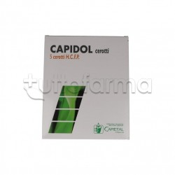 Capidol Cerotti per i Dolori Articolari 5 pezzi