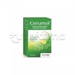 Cerumol Gocce Auricolari per l'Eliminazione del Cerume 10ml