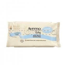 Aveeno Baby Salviettine Detergenti 72 Pezzi