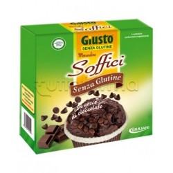 Giuliani Giusto Merendine Soffici Cioccolato Senza Glutine Per Celiaci 4x50gr