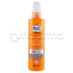 Roc Solare Latte Spray Alta Tollerabilità FP50+ 200ml
