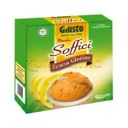 Giuliani Giusto Merendine Soffici Limone Senza Glutine Per Celiaci 4x50g