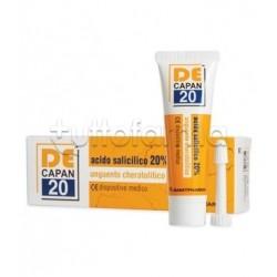 Decapan 20 Unguento Cheratolitico con proprietà Antinfiammatorie 30ml