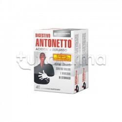 Digestivo Antonetto Formato Convenienza per Acidità e Dolori di Stomaco 80 Compresse Masticabili