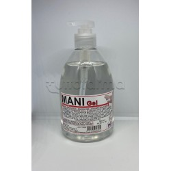 Gel Igienizzante Mani Gel Antibatterico Flacone con Dispenser 500ml